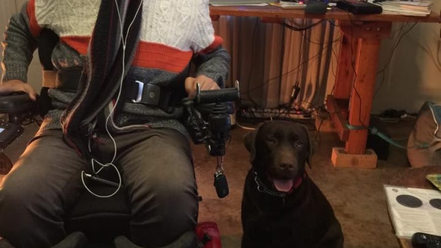 Zane and Rolo's story – A physically disabled man and his best friend