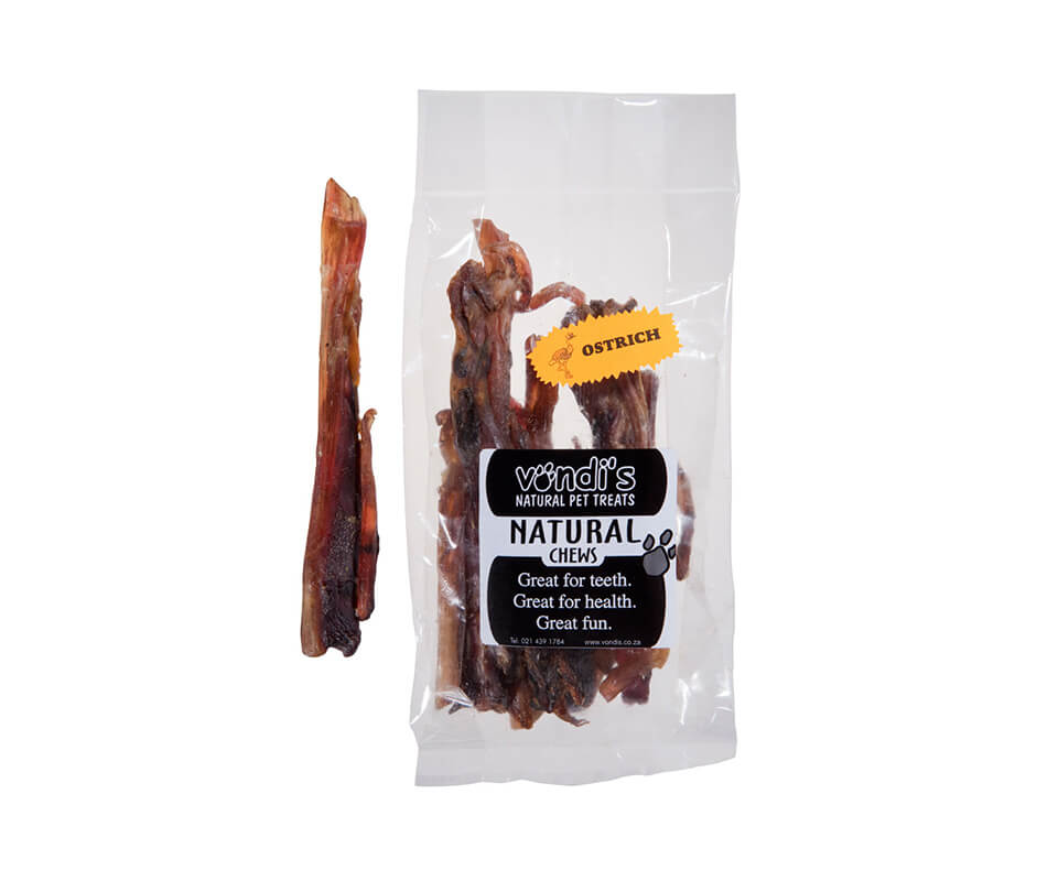 Ostrich Meaty Sticks Five Pack