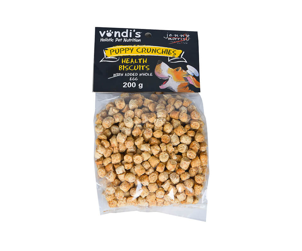Jenny Morris Puppy Crunchies